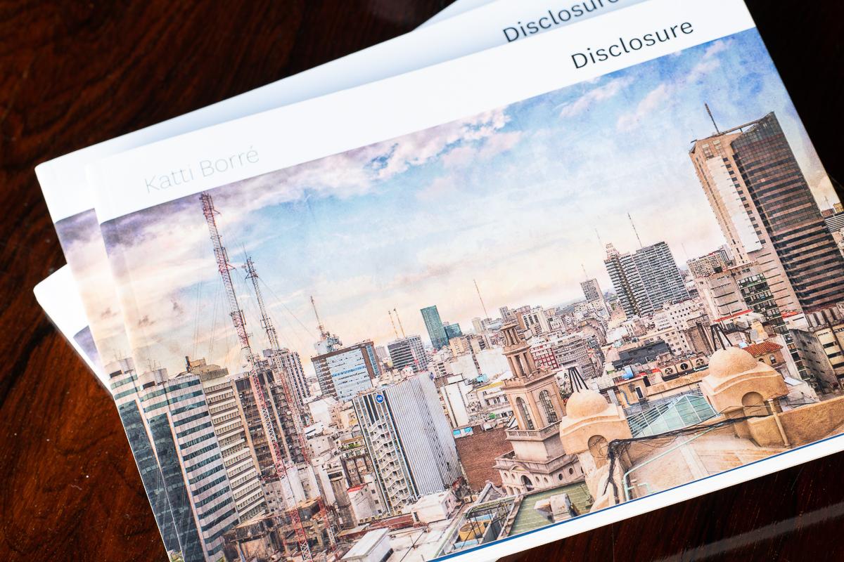 disclosure the book by Katti Borre
