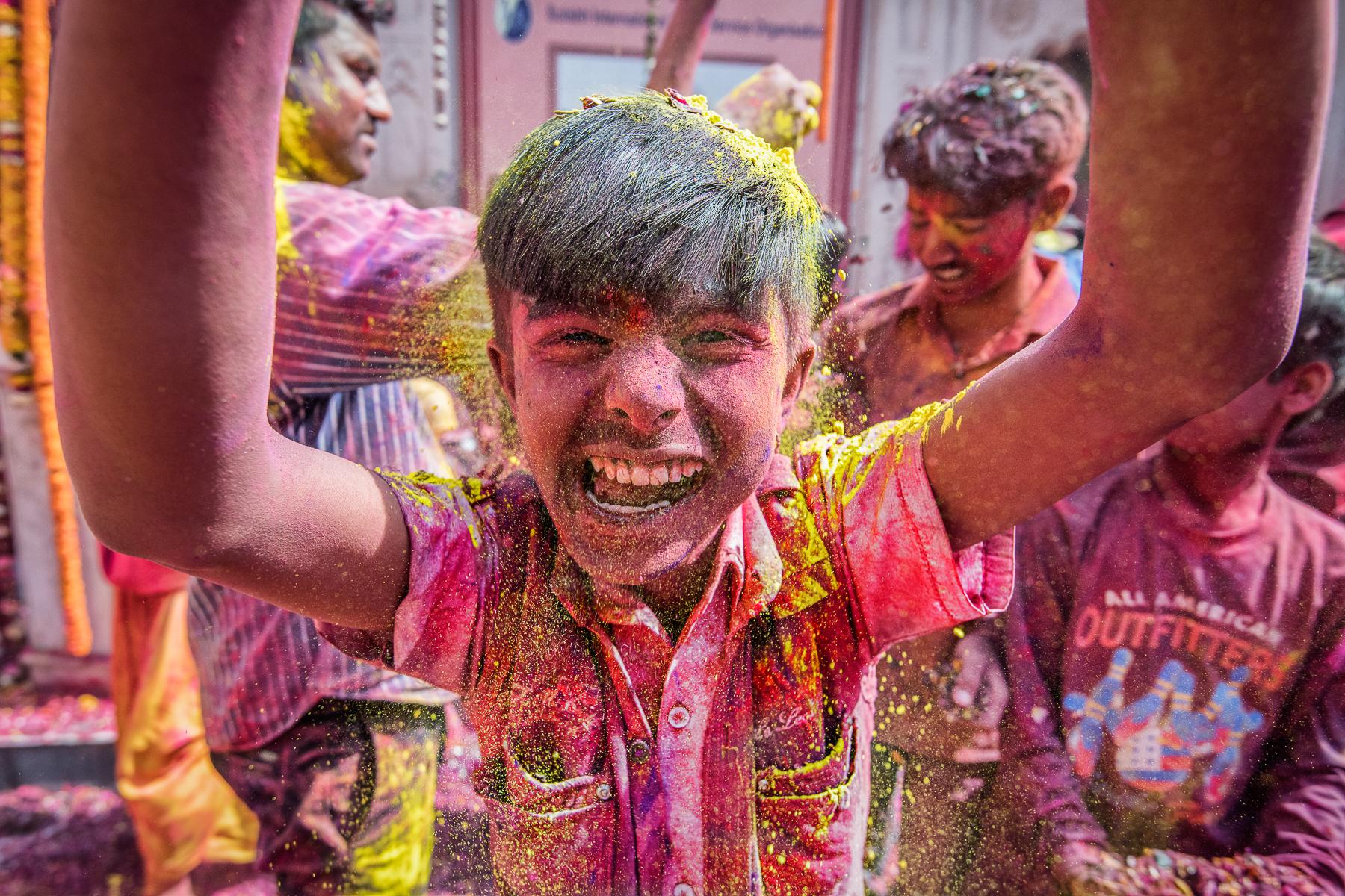 Holi festival india Katti Borre