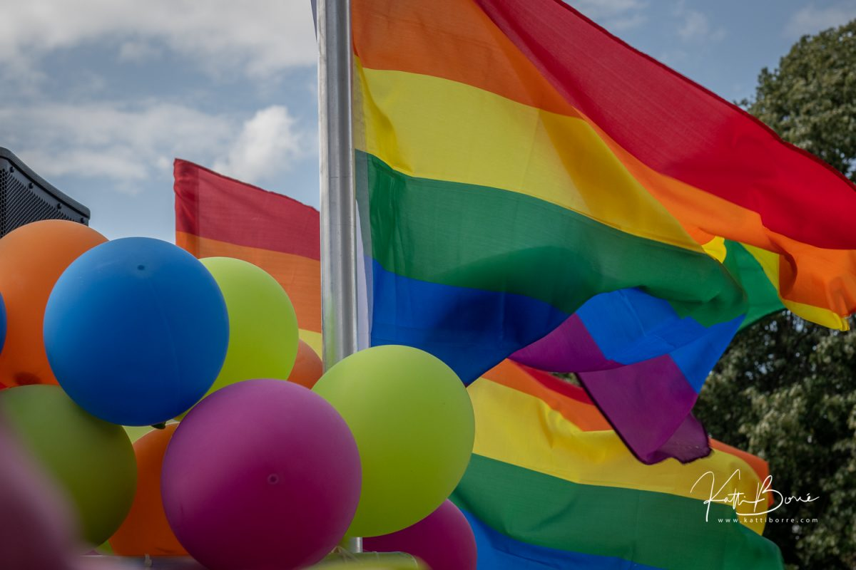 Pride parade Antwerp images Katti Borre