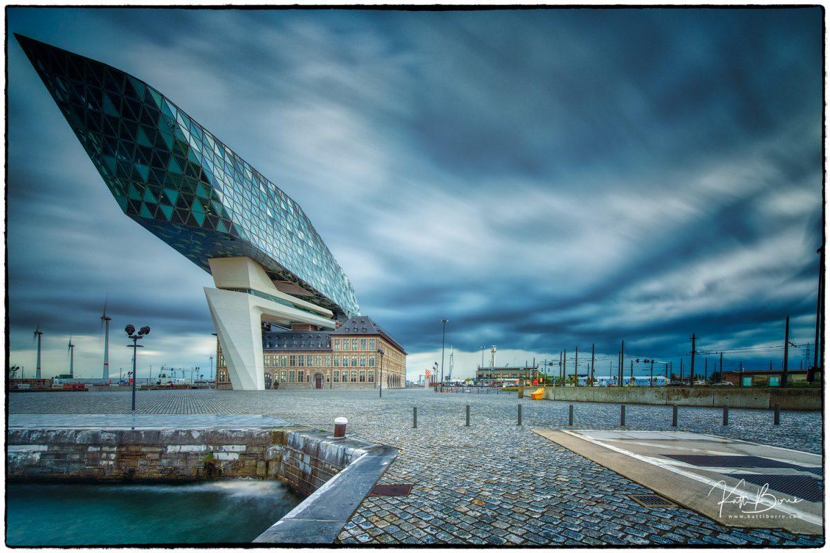 Katti Borre havenhuis Antwerpen