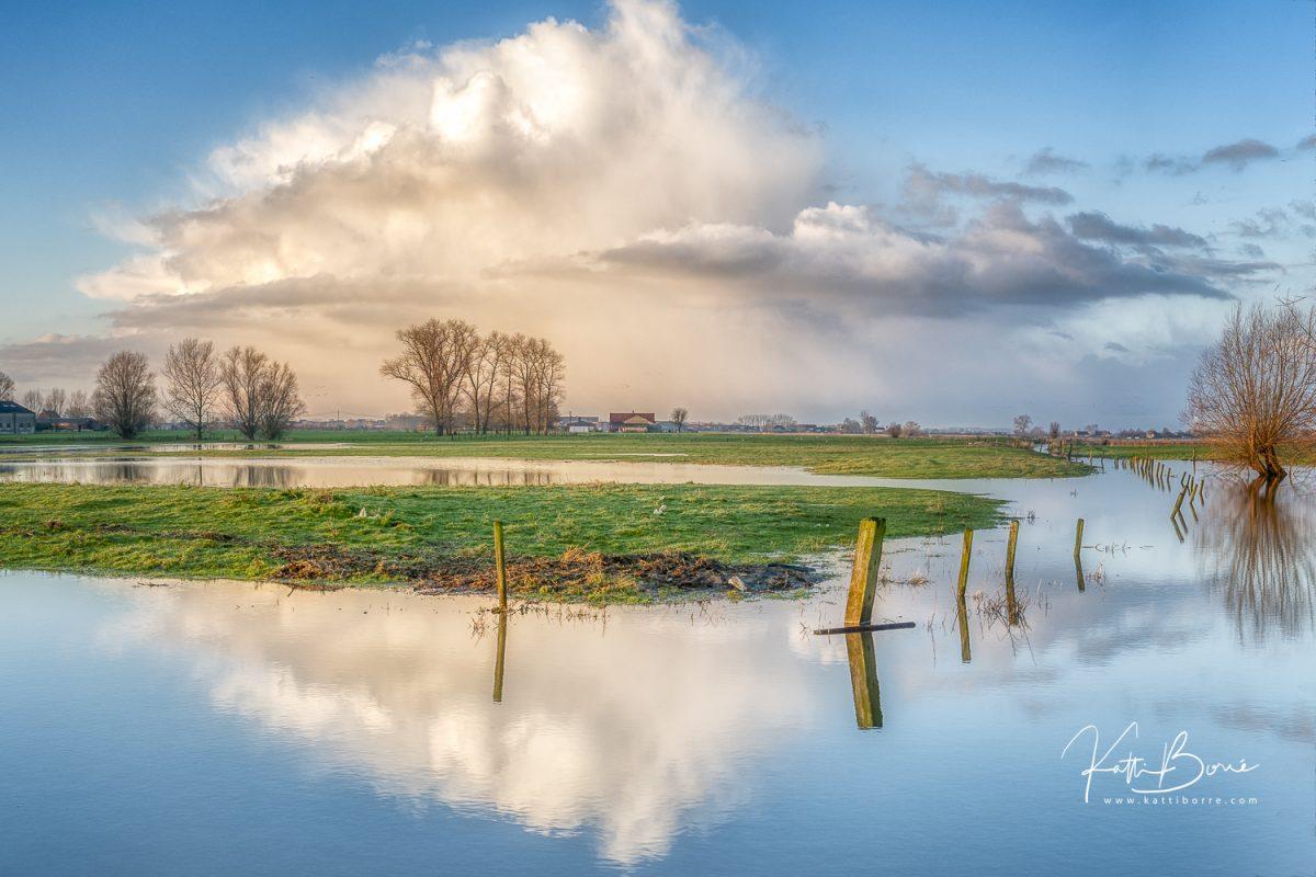 flemish landscape katti borre