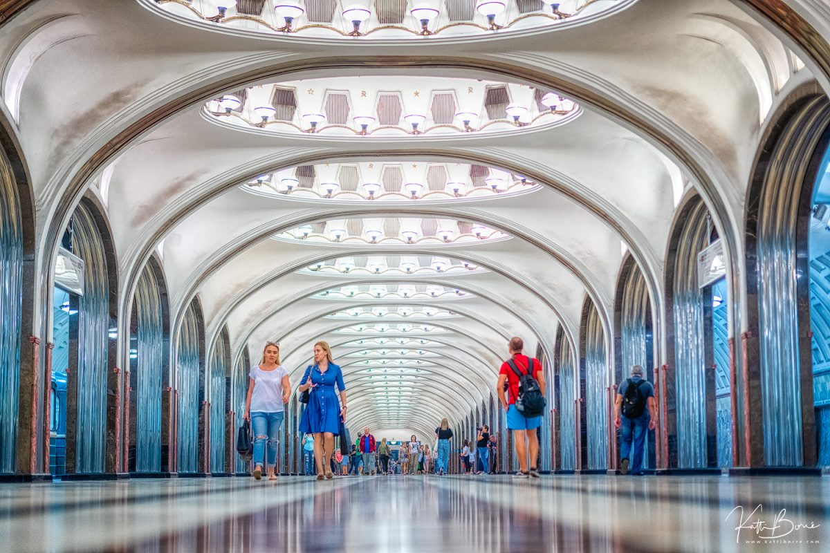 katti borre moscow subway